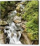 Stanghe's Waterfalls Canvas Print