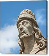 Statues Of Prophets Canvas Print