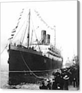 Steamship Accident, 1914 Canvas Print