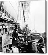 Steamship 'great Eastern Canvas Print