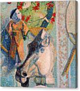 Still Life With Horse's Head Canvas Print