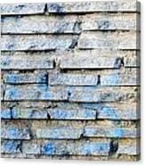 Stone Wall Texture Canvas Print