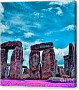 Stonehenge In The English County Of Wiltshire Canvas Print