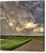 Storm Clouds Prairie Sky Saskatchewan Canvas Print