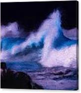 Storm Surge Canvas Print