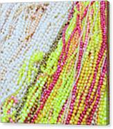 Strands Of Fresh Water Pearls Store Canvas Print
