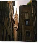 Street Of Rome Canvas Print