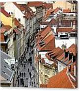 Streets Of Prague Canvas Print