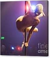 Strippers Club  Canvas Print