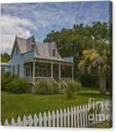 Sullivan's Island House Canvas Print
