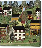 Summer Hills Canvas Print