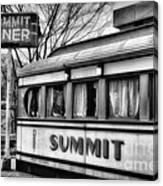 Summit Diner Canvas Print