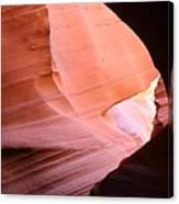 Sunlit Canyon Canvas Print