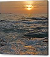 Sunrise At Portscatho Canvas Print