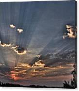 Sunrise Glory Canvas Print