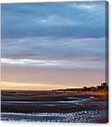 Sunset At First Encounter Beach Canvas Print