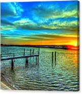 Sunset At The Cape Canvas Print