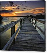 Sunset At Wildcat Cove Canvas Print