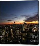 Sunset From Top Of The Rock Canvas Print