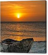 Sunset In Zanzibar - Kendwa Beach Canvas Print
