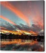 Sunset Over New Hope Canvas Print