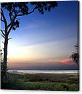 Sunset Over St. Joe Bay 2 Canvas Print