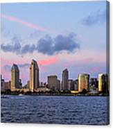 Sunset San Diego Bay Canvas Print