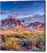 Superstition Mountains Canvas Print