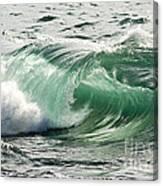Surf Zone At The Barents Sea Coast Canvas Print