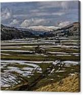Swaledale Yorks Dales Canvas Print