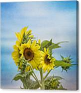 Swaying In The Breeze 2 Canvas Print