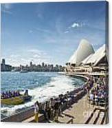 Sydney Harbour In Australia By Day Canvas Print