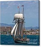 Tall Ship Alicante Canvas Print