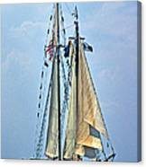 Tall Ship Harvey Gamage Canvas Print