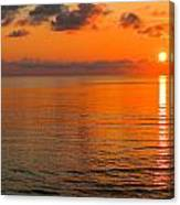 Tangerine Dawn Canvas Print
