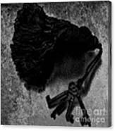 Tassled Vintage Skeleton Keys Canvas Print