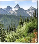 Tatoosh Mountain Canvas Print