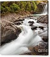 Tawhai Falls In Tongariro Np New Zealand Canvas Print