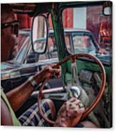 Taxidriver Canvas Print
