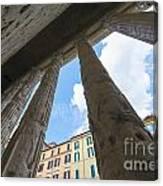 Tempio Di Adriano Canvas Print