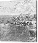 Tenby Harbor Canvas Print