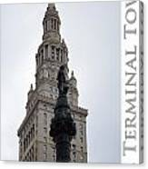 Terminal Tower Canvas Print