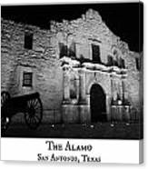 The Alamo Canvas Print
