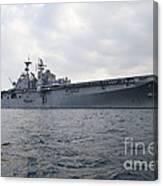 The Amphibious Assault Ship Uss Canvas Print