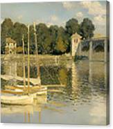 The Argenteuil Bridge Canvas Print