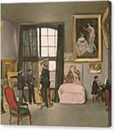 The Artist's Studio Canvas Print