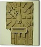 The Aztec Canvas Print