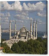 The Blue Mosque Canvas Print