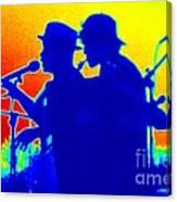 The Blues Canvas Print