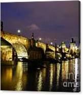 The Bridge Across Canvas Print